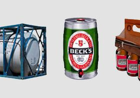 can of beer and special packaging solution from KLU student