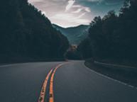 road in beautiful  nature