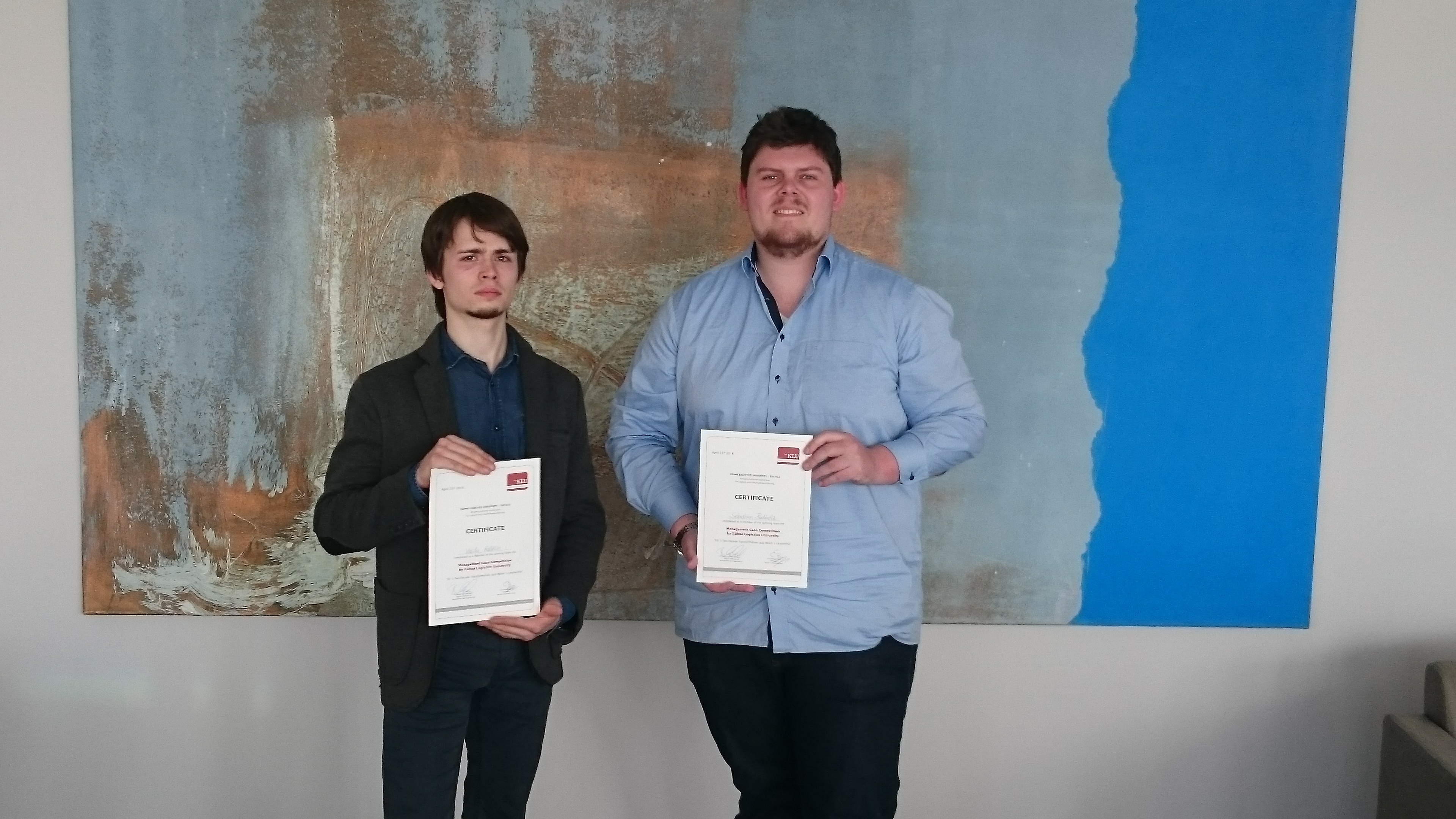 congratulations and scholarships for two happy case